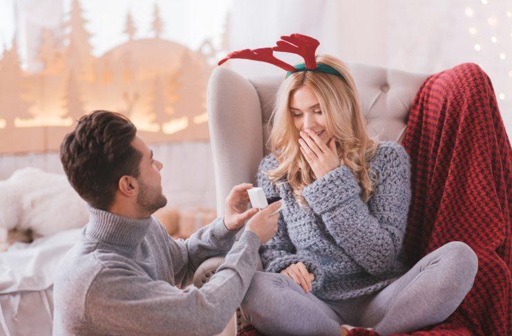 huwelijksaanzoek kerst