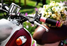 trouwvervoer scooter