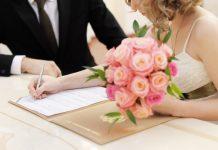 Huwelijksaangifte