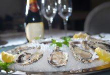 oesters bruiloft