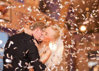 bruiloftsfeest