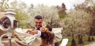 koets trouwen