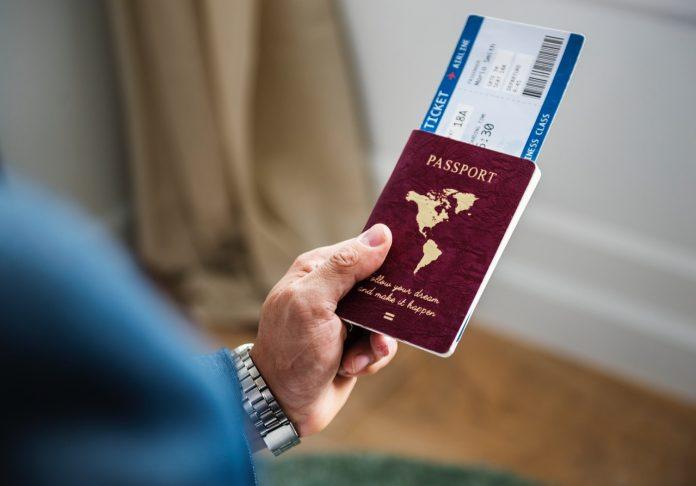 paspoort huwelijksreis