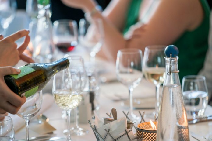 drank bruiloft