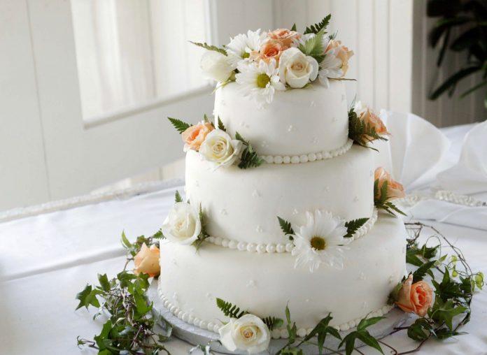 traditionele bruidstaart