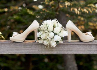 etiquette bruidsboeket