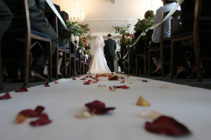 decoratie trouwlocatie